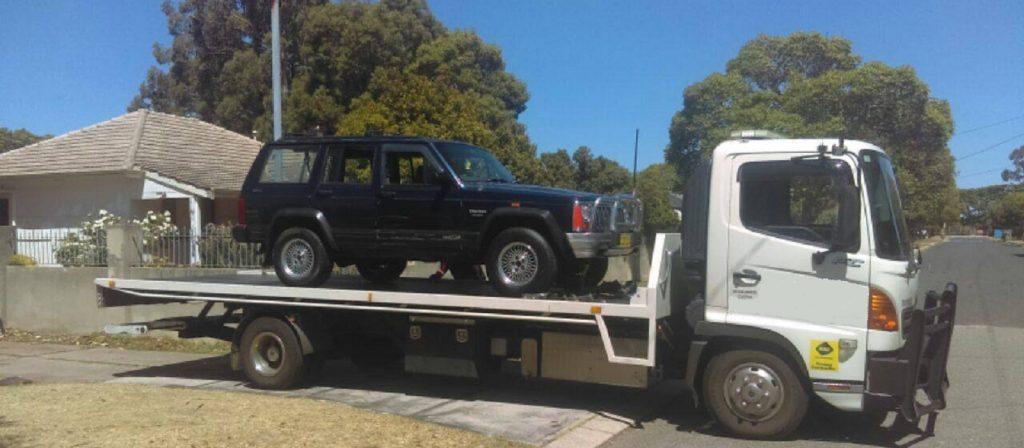 Perth tow truck