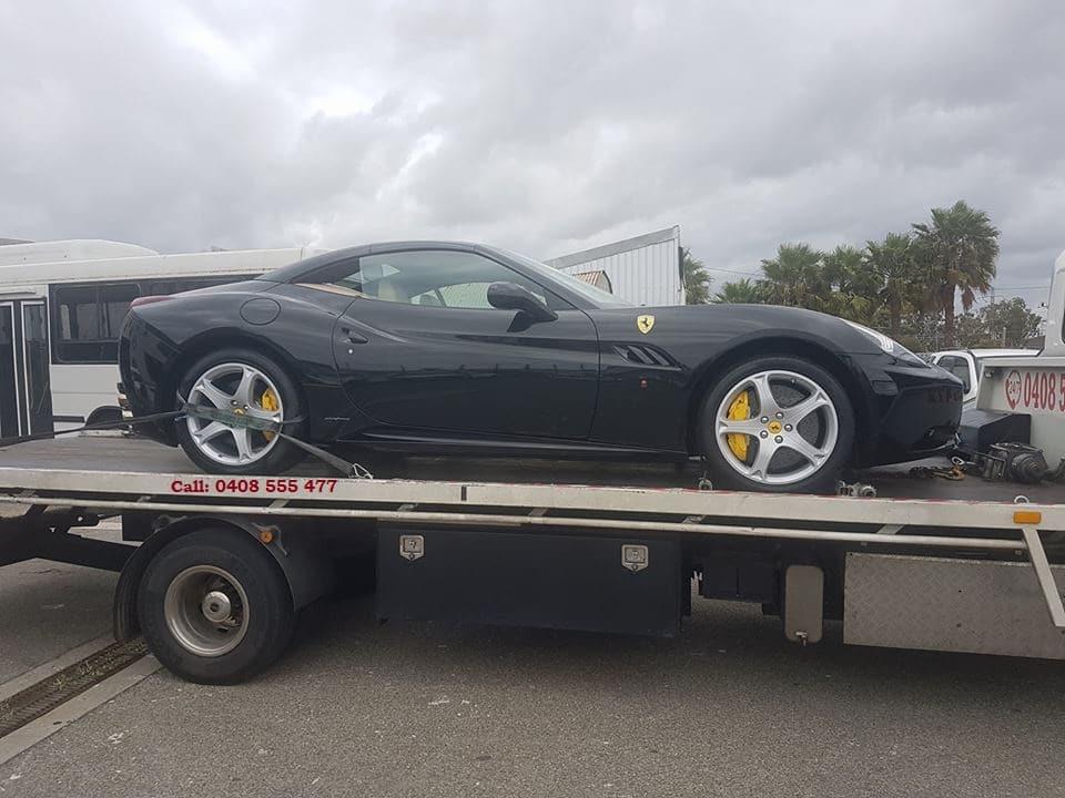 Ferrari Car Towing by Clayton